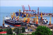 Вид на порт / Украина