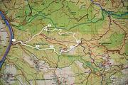 Маршрут на карте / Чехия