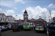 Здание рынка и автовокзал / Гайана