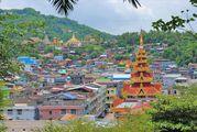 Городок Кавтонг / Мьянма