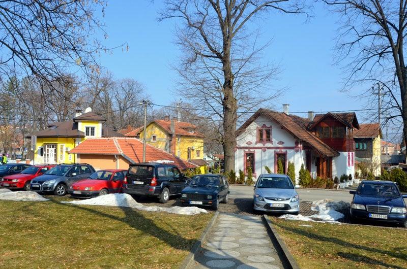 В городке Врнячка-Баня, Сербия / Фото из Сербии