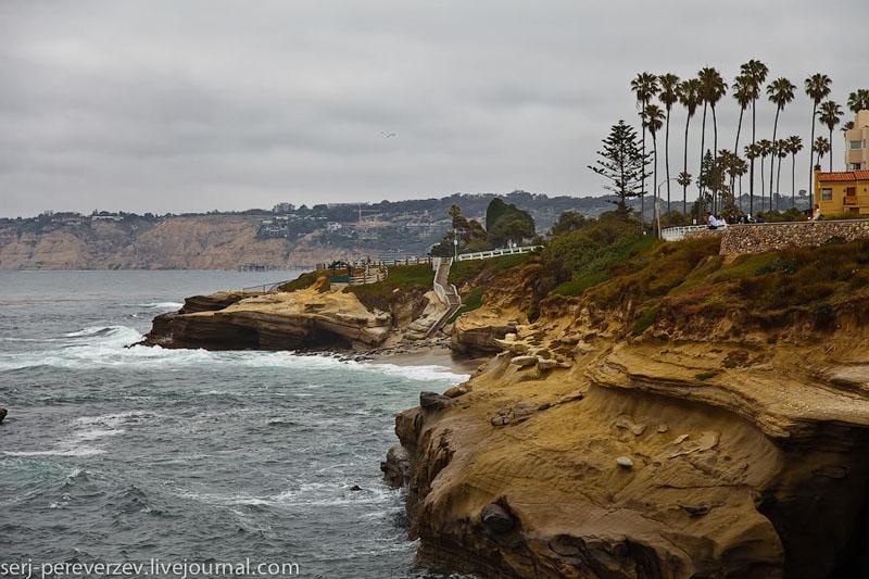 Побережье Ла-Хойи, Калифорния / Фото из США