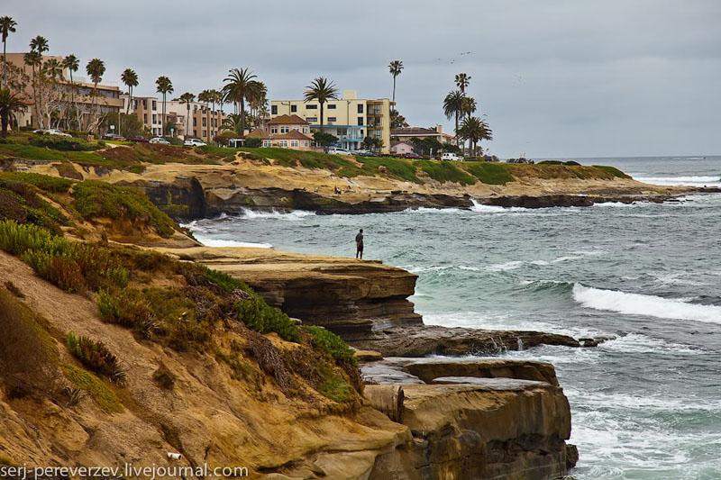 Роскошные виллы на побережье Ла-Хойи в Калифорнии / Фото из США