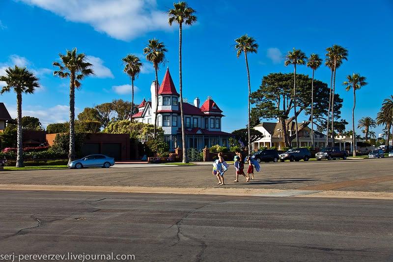 Дома в Коронадо, Калифорния / Фото из США