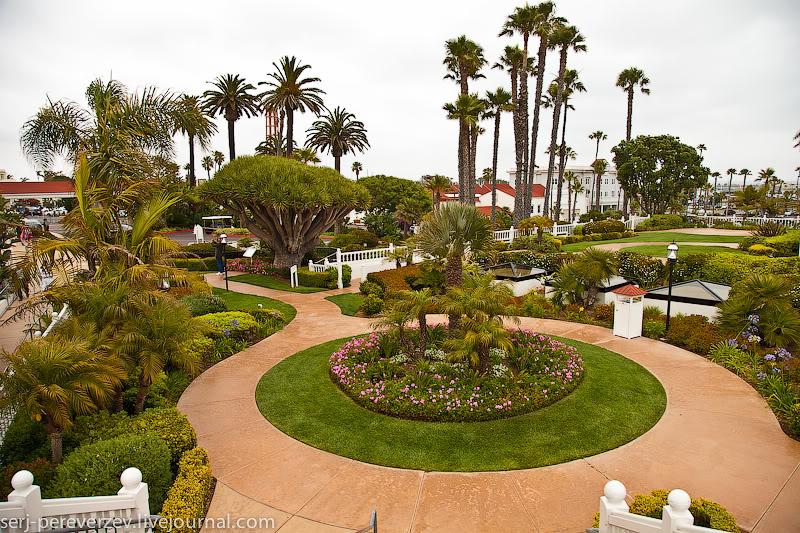 Hotel del Coronado в Коронадо, Калифорния / Фото из США