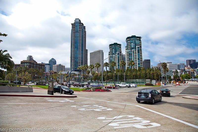 На улице Сан-Диего / Фото из США