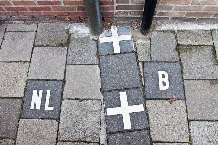 Граница между Бельгией и Нидерландами / Фото из Бельгии