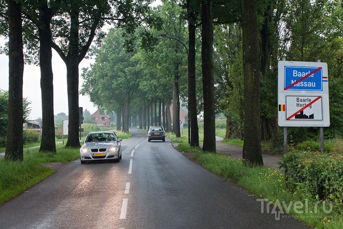 Граница между Барле-Нассау и Барле-Хертогом / Фото из Бельгии