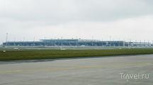 Вид на терминал с ВПП / Германия