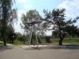 Памятник в Авиагородке / Белоруссия