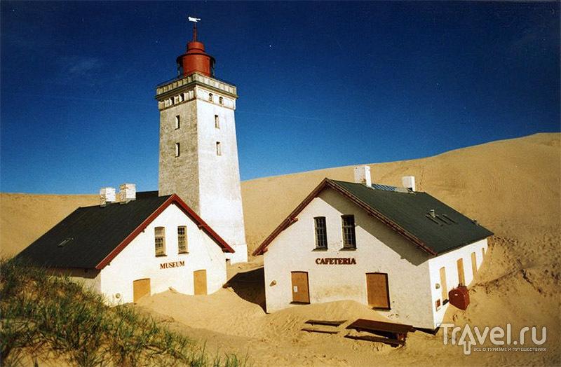 Музей, кафе и маяк в 2002 году / Дания