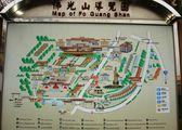 Карта монастыря / Тайвань