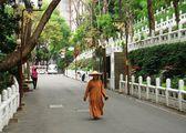 Монах на дороге / Тайвань