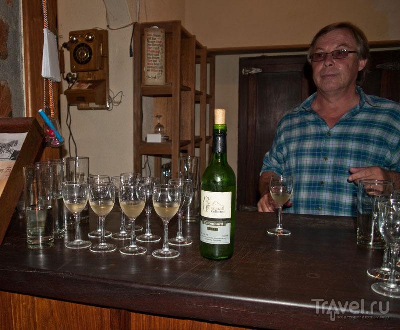 Намибийское белое вино / Фото из Намибии