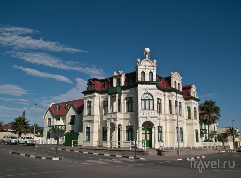 Все дома в Свакопмунде отреставрированы / Фото из Намибии