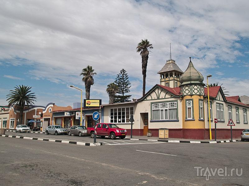 Чистый и яркий Свакопмунд / Фото из Намибии