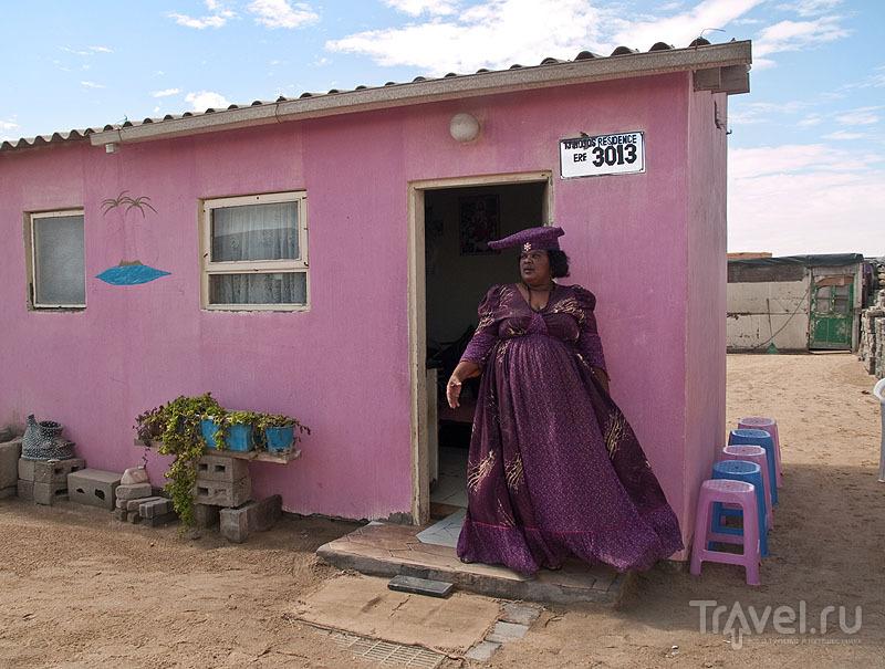 Женщина хереро / Фото из Намибии