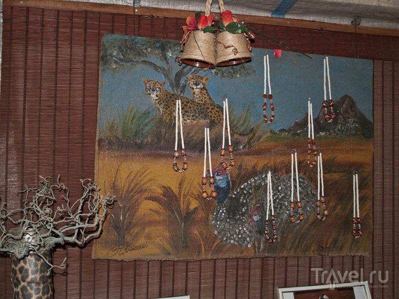Сувениры в Мондесе / Фото из Намибии