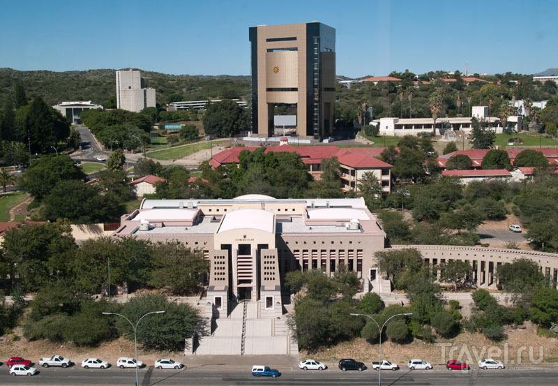 Высотное здание - будущий музей борьбы за независимость / Фото из Намибии