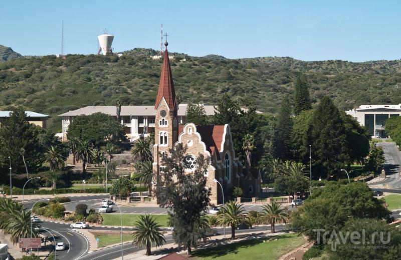Церковь Christuskirche в Виндхуке / Фото из Намибии