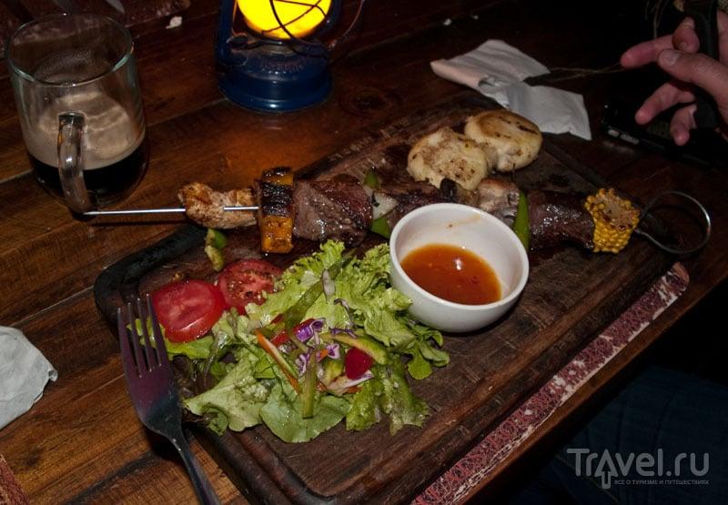 Мясное ассорти в ресторане Joe's Bier Haus, Виндхук / Фото из Намибии