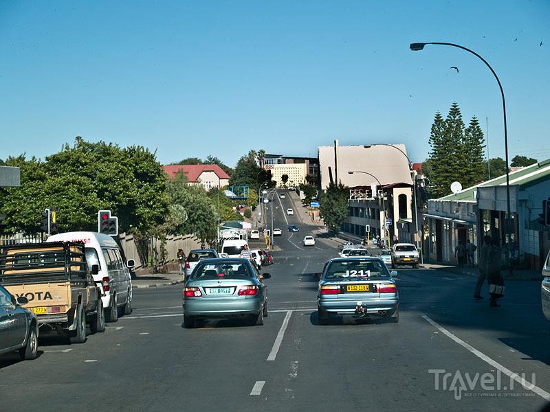 Улица в Виндхуке / Фото из Намибии