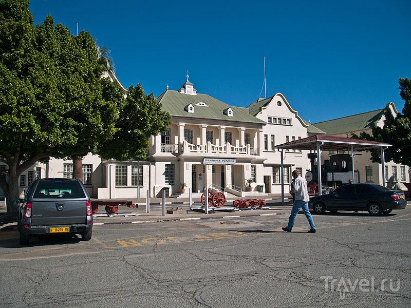Главный железнодорожный вокзал в Виндхуке / Фото из Намибии