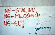 Граффити на стенах / Хорватия