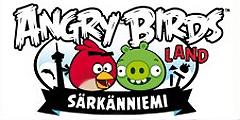 Новые аттракционы посвящены игре Angry Birds. // sarkanniemi.fi