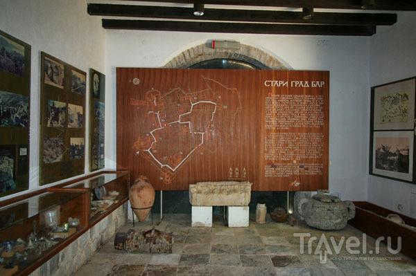 Экспозиция, рассказывающая о Старом Баре / Фото из Хорватии