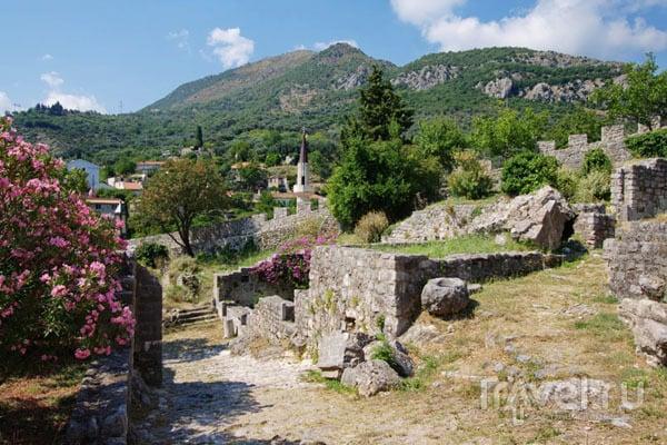 В крепости города Бар / Фото из Хорватии