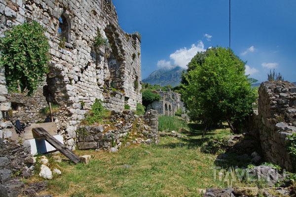 Стены крепости города Бар / Фото из Хорватии
