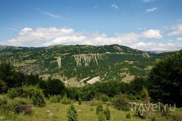 Горы в Черногории / Фото из Хорватии