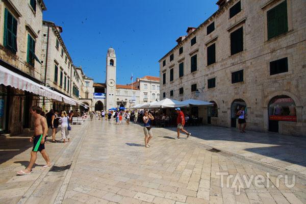 На улице Дубровника, Хорватия / Фото из Хорватии