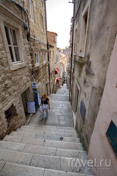 Улица в Дубровнике / Фото из Хорватии