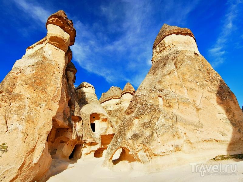 Каменные образования в Каппадокии, Турция / Турция