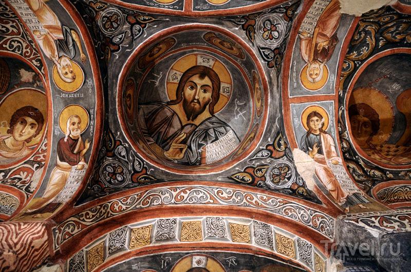 Фреска в Темной церкви, Гёреме, Каппадокия / Турция