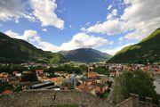 Вид на окрестности / Швейцария
