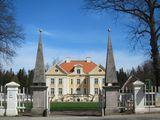 Хорошо сохранившаяся усадьба / Эстония