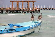Лодка и пассажиры / Мексика