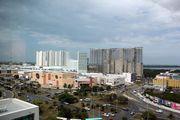 Отель Ibis, вид из окна / Мексика