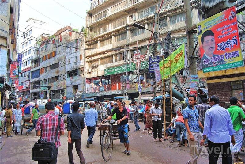 Жилой квартал Дакки, Бангладеш / Фото из Бангладеш
