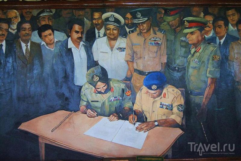 Картина из музея в Дакке / Фото из Бангладеш