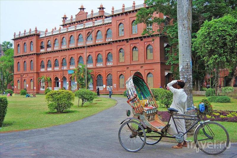 Здание Государственного университета Дакки / Фото из Бангладеш