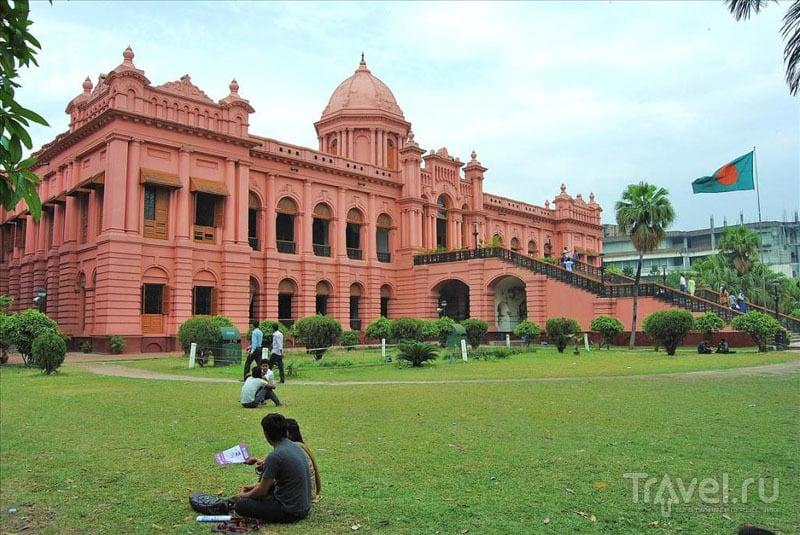 Розовый дворец в Дакке / Фото из Бангладеш