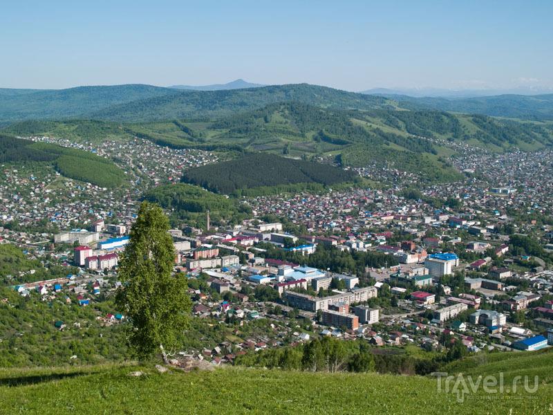 Вид на Горно-Алтайск / Фото из России
