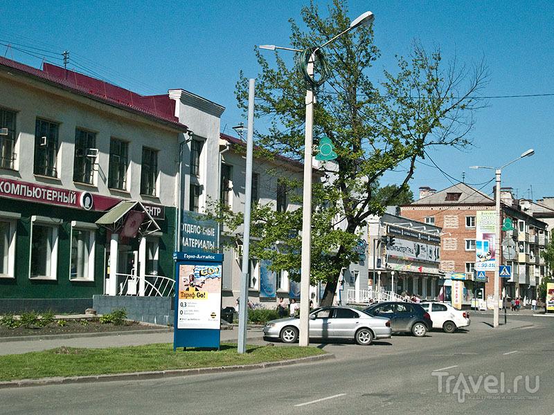 Улицы в Горно-Алтайске просторные и чистые / Фото из России