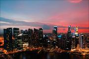 Отличный закат / Сингапур