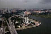 Трасса F1 справа / Сингапур