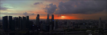 Солнце сквозь облака / Сингапур